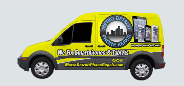 Metro Detroit Phone Repair Van